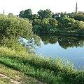 Neckar und die beiden Kirchen Seckenheims - panoramio.jpg