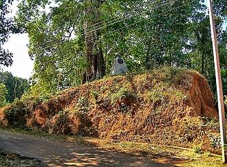 Nedumkotta - The relics of the entrance of travancore lines