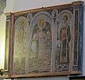 Neri di bicci (ambiente), arcangelo raffaele tra i ss. sebastiano e leonardo, 1478 ca..JPG