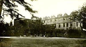 Netherseal - Netherseal Hall, Derbyshire in the early 20th Century.