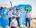 Nevatim Airbase change of command ceremony.jpg