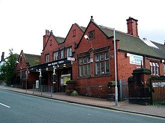 New Brighton railway station - Image: New Brighton Railway Station, Atherton Street by E Pollock