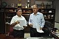 New DG Anil Shrikrishna Manekar And Retired DG Ganga Singh Rautela - NCSM - Kolkata 2016-02-29 1815.JPG