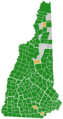 New Hampshire Democratic Presidential Primary Election Results by Town, 2016.png