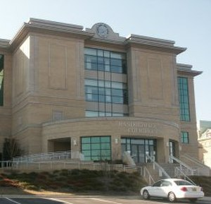 Randolph County, North Carolina - The new Randolph County Courthouse opened in 2002