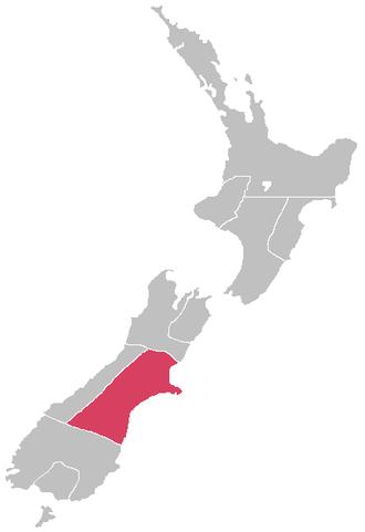 Canterbury Province - Image: New Zealand provinces Canterbury