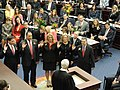 New members of the Florida House of Representatives are sworn into office by Supreme Court Justice Ricky Polston.jpg