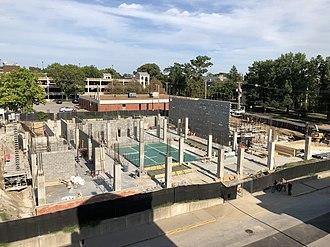 University of Missouri School of Music - New Music Building under construction in 2018
