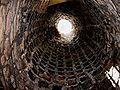 Newark Castle doocot int.jpg