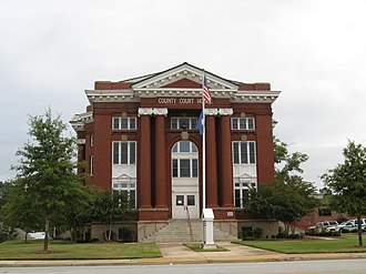 Newberry County, South Carolina - Image: Newberry County Courthouse