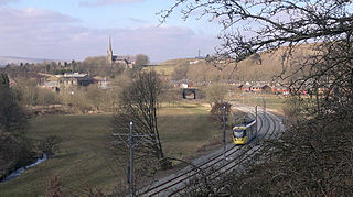 Newhey suburban village in the Milnrow area of the Metropolitan Borough of Rochdale, in Greater Manchester, England