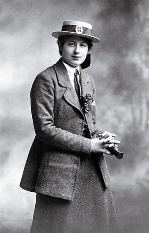 Ngaio Marsh - Ngaio Marsh (school prefect) in her St. Margaret's College school uniform, between 1910 and 1914