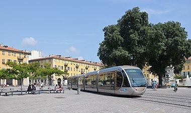 Nice tramway