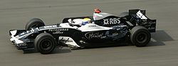 Rosberg in Malesia nel 2008