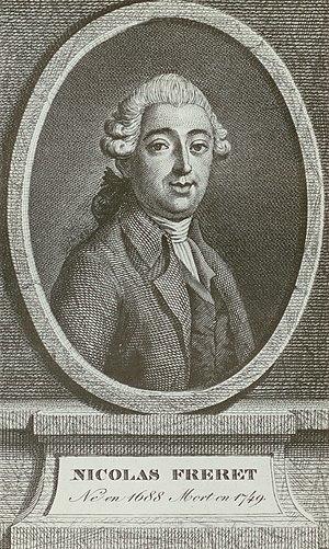 Nicolas Fréret - Nicolas Fréret (1688-1749).
