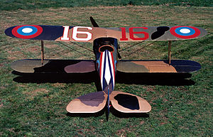 United States military aircraft national insignia - Nieuport 28 with the World War 1 era American roundels