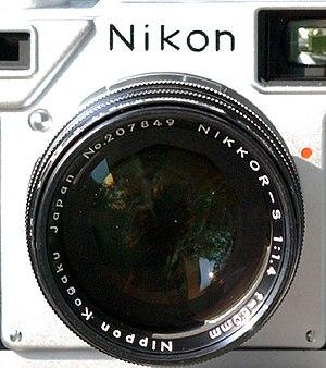 Nikkor - Nikkor-S 50mmF1.4 on a Nikon S3 camera