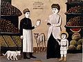Niko Pirosmani. A Tatar Fruiterer. Oil on cardboard, 75x106 cm. The State Museum of Fine Arts of Georgia, Tbilisi.jpg