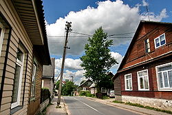 Nemenčinė old city streets