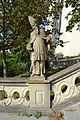 Nitra - Nitriansky hrad - socha sv. Augustína.jpg