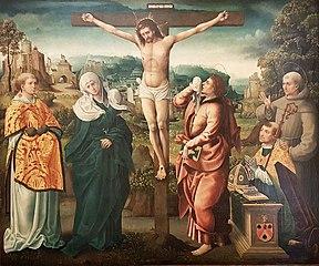 Le Calvaire avec François Poncher en prière