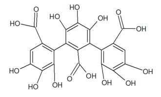 Nonahydroxytriphenic acid - Image: Nonahydroxytriphenic acid