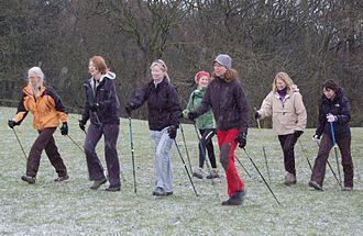 Walking - Nordic walkers
