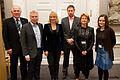 Nordiska kulturministrar mots under Nordiska Radets session 2011 i Kopenhamn. Har tillsammans med Nordiska Ministerradets generalsekreterare till vanster.jpg