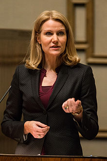 Helle Thorning-Schmidt en octobre 2012.