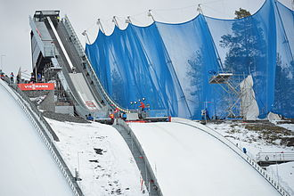 FIS Nordic World Ski Championships 2015 - The normal ski jumping hill used in the championships.