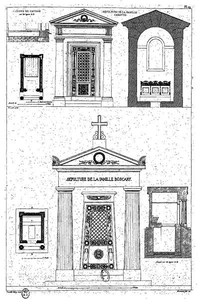 Fichier:Normand - Monuments funéraires choisis dans les cimetières de Paris - Planche 29.jpg