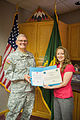 North Dakota's sexual assault response coordinator earns Department of Defense award 150429-Z-ZZ999-105.jpg