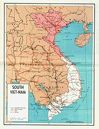 North and South Vietnam from 1954 to 1975.