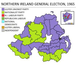 Northern Ireland general election, 1965 - Image: Northern Ireland general election 1965