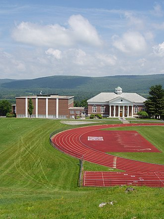 Northfield Mount Hermon School - View of James and Forslund Gymnasiums