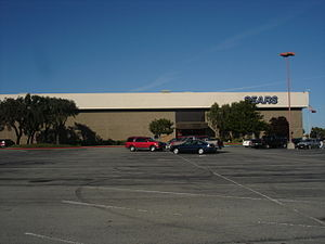 Northridge Mall - The Sears store, which was incorporated into the mall in 1982