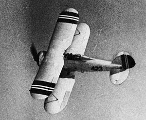 Norwegian Army - Gloster Gladiator of the Norwegian Army Air Service in 1940