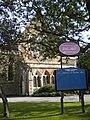 Notice board, Christ Church, High Road N12 - geograph.org.uk - 2100561.jpg