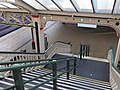 Nottingham Midland rail station stairs from footpath 1154.jpg