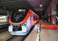 Nowy pociąg PESA Link w barwach POLREGIO należący do spółki(1)