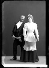 Nr 30 Gustafsson, Södra teatern 1908. Rollporträtt - SMV - GA008.tif