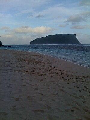 Nu'utele - Image: Nu'utele island Samoa