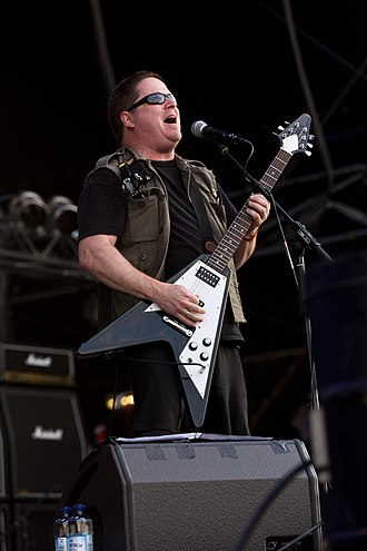 John Connelly (musician) - John Conelly live with Nuclear Assault at Party.San Open Air 2015