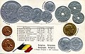 Numismatic postcard from the early 1900's - Belgium 02.jpg