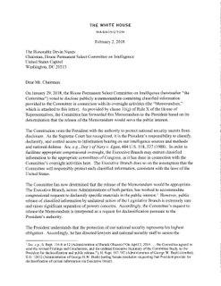 Nunes memo memo alleging FBI misconduct