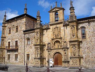 University of Oñati - Facade of the University building