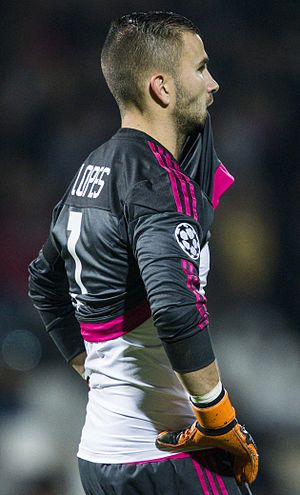 Anthony Lopes - Lopes with Lyon in 2015