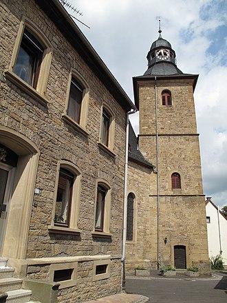 Odernheim am Glan - Hintergasse 9 – Protestant parish church
