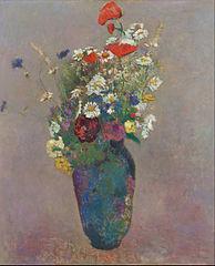 Vision- vase of flowers