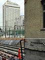 Oerlikon - 'Gleis 9' während der Gebäudeverschiebung 2012-05-23 15-53-14 (P7000) ShiftN.jpg